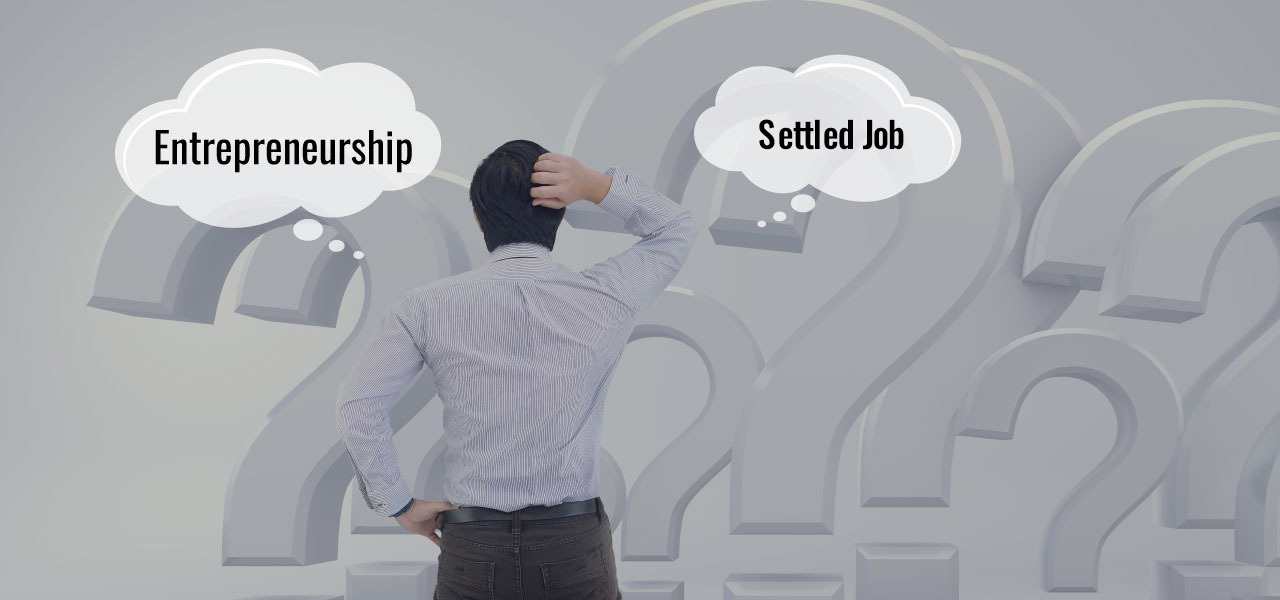 entrepreneurship or job